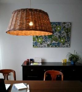 Lampekap en wandversiering, compri
