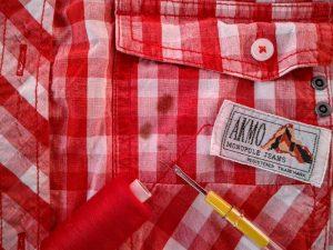 10, Vlekje wegwerken overhemd (2)